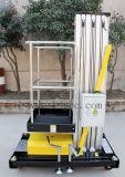 алюминиевая гидровлическая воздушная платформа 8meters (yellow&black GTWY8-100)