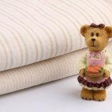 Textile 100% organique diplômée par tissu organique de coton avec la piste