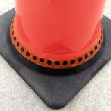 Verkehrs-Kegel mit reflektierendem in der Belüftung-Unterseite 700 mm