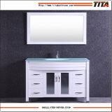 Тщета T9120-48W ванной комнаты античного типа стеклянная верхняя