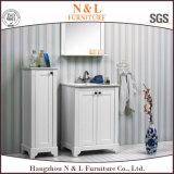 Vaidade moderna do gabinete de banheiro do PVC do estilo de N&L