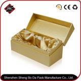 Boîte-cadeau de papier en gros d'emballage avec du matériau réutilisé