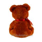 Drei Farben-Valentinstag-Teddybär mit Emoji Inner-Plüsch-Spielzeug