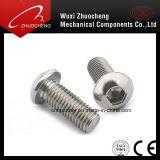 Vis Hex de tête de bouton de plot de l'acier inoxydable DIN7380