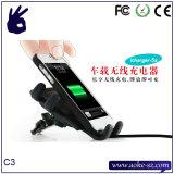China-heißes Miniauto-drahtlose Telefon-Arbeitsweg-Aufladeeinheit
