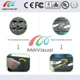 Sinais dianteiros ao ar livre do indicador de diodo emissor de luz da manutenção para anunciar