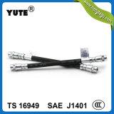 """Ensemble de tuyau automatique en caoutchouc de frein d'EPDM de Yute 1/8 """" avec RoHS"""