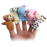 極度のかわいい子供の小型おもちゃの指によって詰められるパペットプラシ天