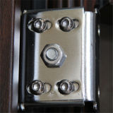 جديدة تصميم عمليّة بيع حارّة خشبيّة حبة لون فولاذ أمن [إنترنس دوور]