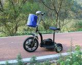 Тип взрослый электрический трицикл поставщика Китая электрический управляя