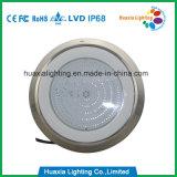 An der Wand befestigte Pool-Epoxidlampe des Edelstahl-316 gefüllte LED