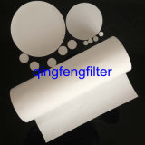Papel de filtro hidrofóbico de 0.2um PVDF para la filtración del aire y del gas