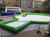 Arena inflable del juego