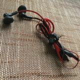 шлемофон наушника штепсельной вилки 3.5mm стерео чисто связанный проволокой нот с микрофоном