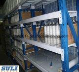 Fácil montar o Shelving entalhado do ângulo usado em casa ou o escritório