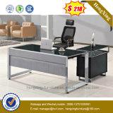 Bureau exécutif en métal et en verre de bureau de la vente 2016 chaude (NS-GD016)