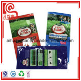 Bolso de empaquetado del fertilizante plástico de la impresión del sellado caliente