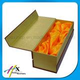 주문품 나무로 되는 PU 서류상 단 하나 술병 포장 상자