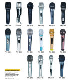 Prix de microphone de karaoke de câble par étoile simple en métal meilleur, bonne qualité