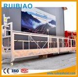 Acier/plate-forme/berceau/gondole suspendus par aluminium/Zlp250