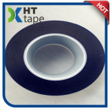 cinta que corta con tintas de la película del PVC de la cinta de la protección de la superficie del azul de 0.08m m
