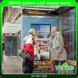 Qualität im FreienLCD Bildschirmanzeige-Screen-Kiosk bekanntmachend