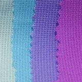 Il tessuto del poliestere ha tinto la fibra chimica del tessuto per l'indumento dei bambini del pannello esterno del vestito dalla donna