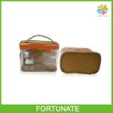 واضحة بلاستيكيّة حمل [بفك] سحاب مستحضر تجميل حقيبة ترويجيّ