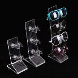 Colonna montante acrilica del blocco per grafici di angolo per la visualizzazione di Eyewear