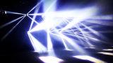 De professionele 8PCS*12W4in1 RGBW LEIDENE Straal die van de Spin HoofdLicht beweegt
