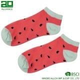 De nieuwe Sokken van de Enkel van het Patroon van het Fruit van het ontwerp In het groot
