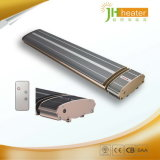 Aquecedor de banheiro de quartzo / pátio exterior Aquecedor radiante infravermelho distante com controlador
