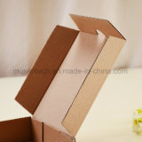 Impresión del logotipo aceptada respetuosa del medio ambiente de alta calidad alimenticia de color marrón de papel corrugado Pizza Paper Box