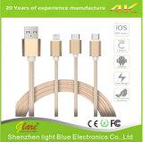 Multi USB 3 in 1 Kabel voor Last en Gegevens