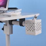 調節可能なHeigthは車輪が付いている立場の机を坐らせる