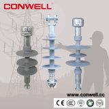 Isoladores cerâmicos de alta tensão elétricos da suspensão