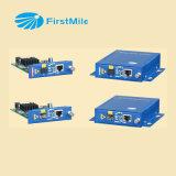 Convertitore ottico gestito di media della fibra con Ethernet veloce