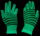 Перчатки высокой яркости светящие для работы в ночную смену