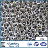 Mousse en aluminium de pierre de nid d'abeilles pour la décoration