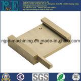 Berufsfabrik kundenspezifische CNC-maschinell bearbeitende Messingplatte