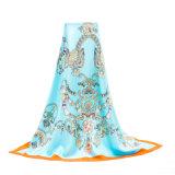 Baixo lenço de seda impresso de MOQ China fabricante