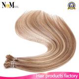"""20 """"Cabelo Remy Humano Brasileiro I Tip Stick Tip Extensões de cabelo de festão de queratina 1g / S 50g 100g Straight Hair Opções de 16 cores"""