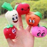 Brinquedo do luxuoso dos miúdos dos fantoches do dedo dos vegetais