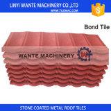Tuiles de toit en esclavage avec différentes couleurs pour la décoration en bois et par acier structurée de toit