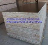 de 1220*2440mm In reliëf gemaakte Matte Melamine Blockboard van de Oppervlakte