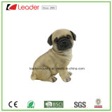 Figurine собаки Polyresin высокого качества для украшения дома и сада
