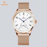 2017 Heet Verkopend Horloge 72808 van de Manier van het Horloge van de Mensen van de Band van het Roestvrij staal van Horloges Klassiek Automatisch Mechanisch