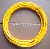 """5/32 """" manguito de alta presión trenzado de la resina de la fibra de SAE100 R7"""