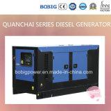 Quanchai Engine이 강화하는 15kw 침묵하는 디젤 엔진 발전기