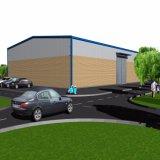 Metalllogistik-Speicher-Gebäude für Lager